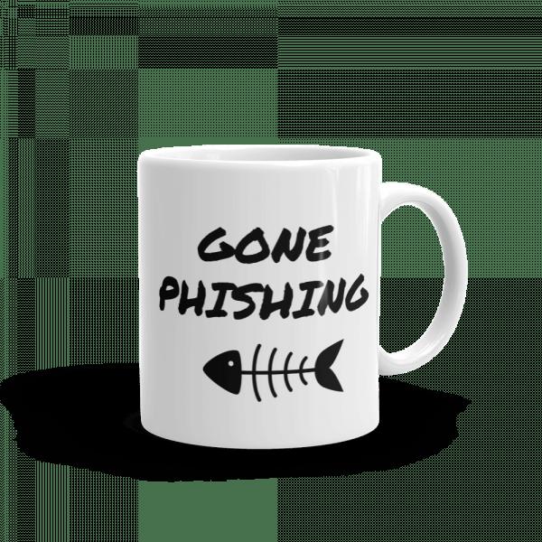 Gone Phishing Mug Right